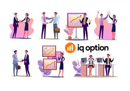 Cách tham gia Chương trình liên kết và trở thành Đối tác trong IQ Option