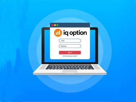 Cách đăng nhập IQ Option