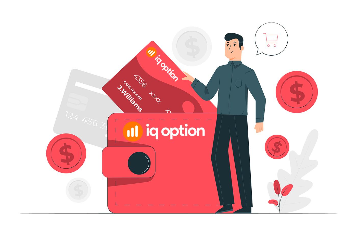 Cách mở tài khoản và rút tiền tại IQ Option