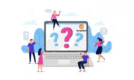 Các câu hỏi thường gặp (FAQ) về Tài khoản, Xác minh trong IQ Option