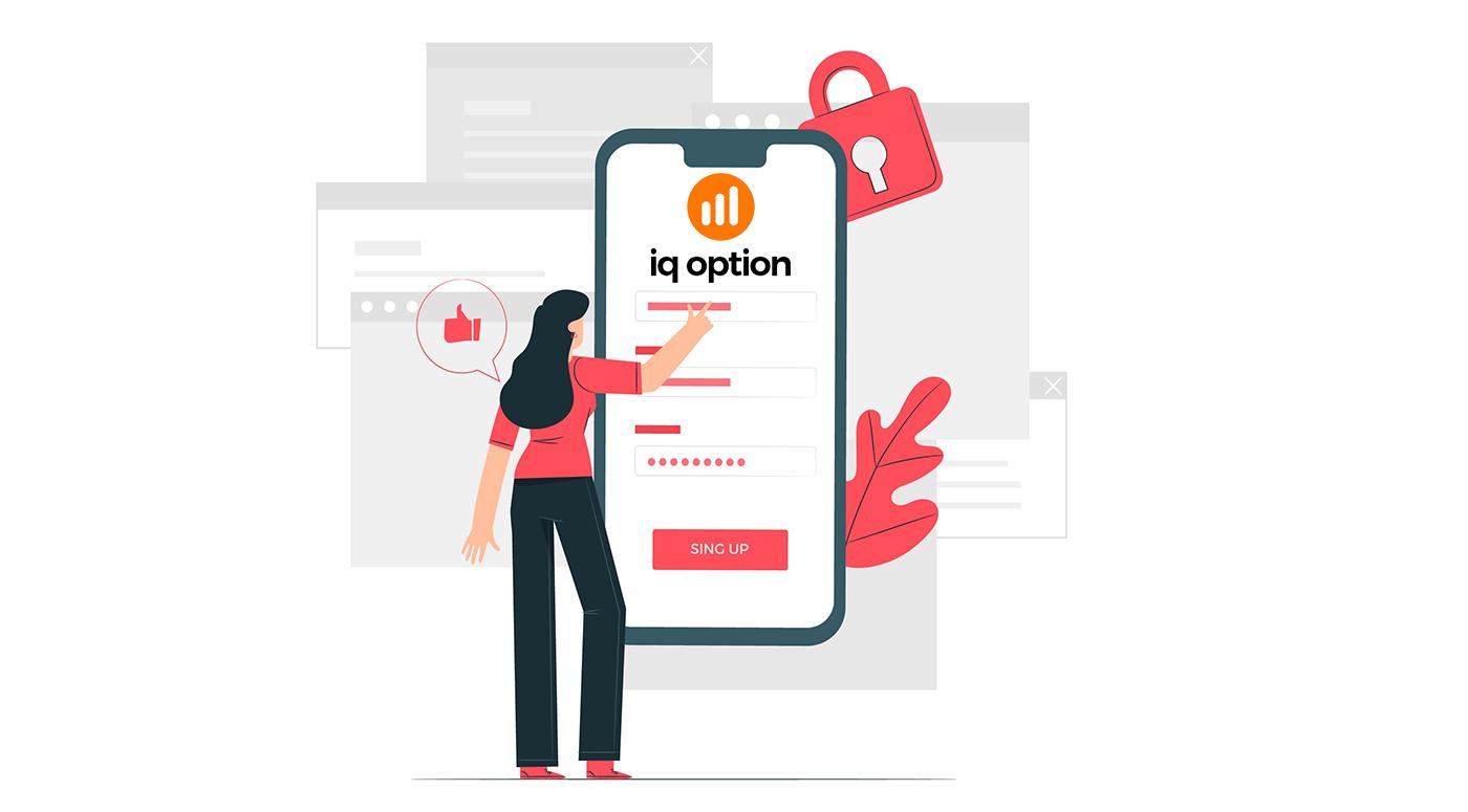 Cách đăng ký và đăng nhập tài khoản trong IQ Option