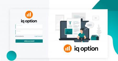 Cách mở tài khoản giao dịch và đăng ký tại IQ Option