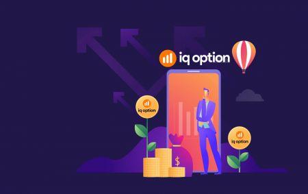 Cách gửi tiền và giao dịch quyền chọn nhị phân tại IQ Option