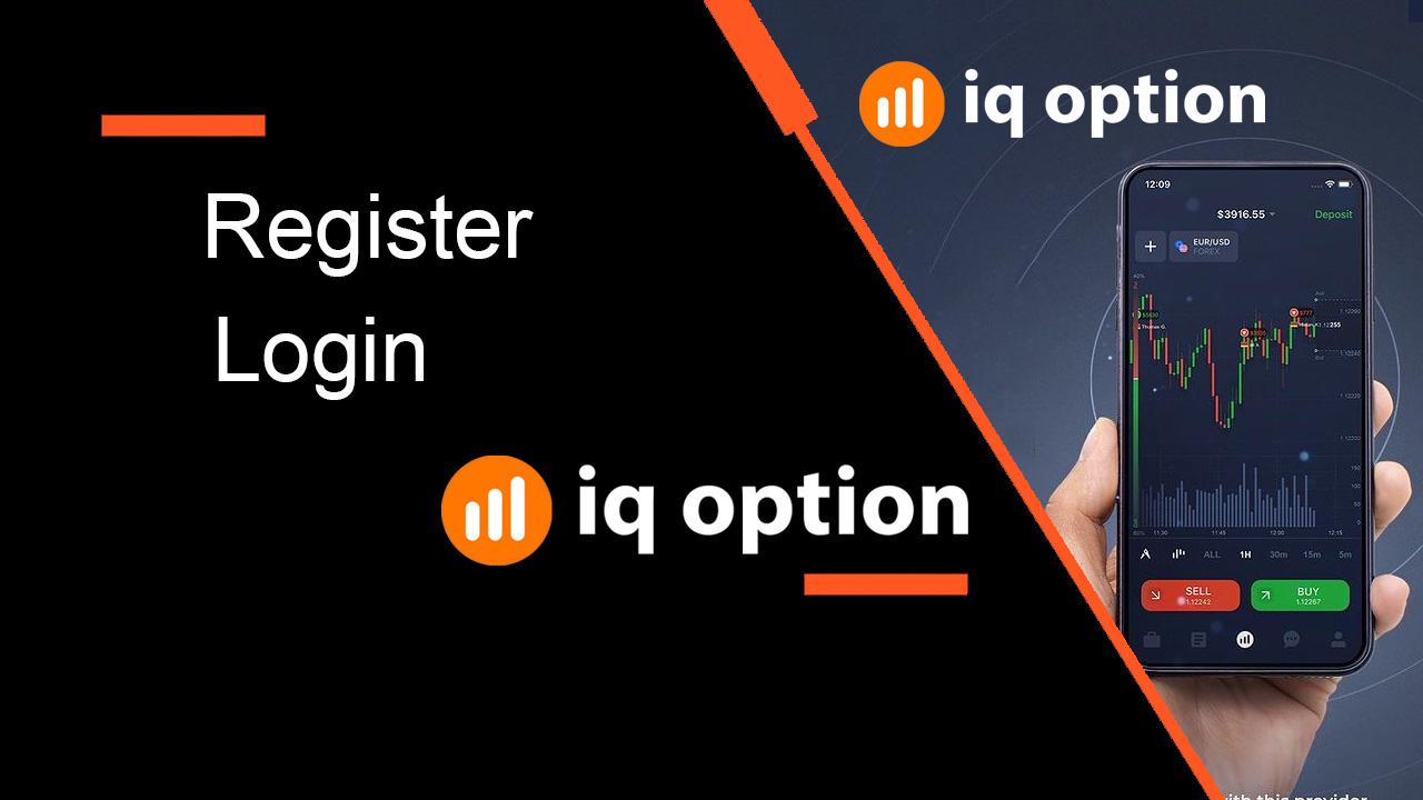 Cách đăng ký và đăng nhập tài khoản trong IQ Option  Broker Trading